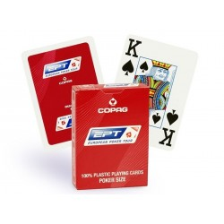 Copag Karty Do Gry 100% Plastik Poker EPT