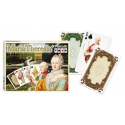 Ekskluzywne karty do gry Piatnik Maria Teresa