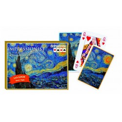 Ekskluzywne karty do gry Van Gogh, Gwiaździsta noc