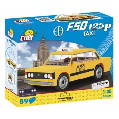 Klocki Youngtimer Collection 89 elementów FSO 125p Taxi