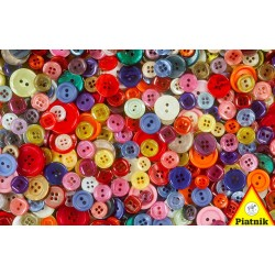 Ekskluzywne puzzle Piatnik & Sohne Guziki