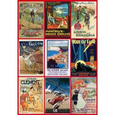 Puzzle Piatnik  Sohne Vintage Poster Transport