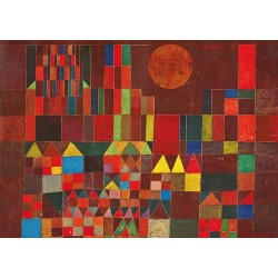 Puzzle Piatnik  Sohne Klee, Burg & Sonne