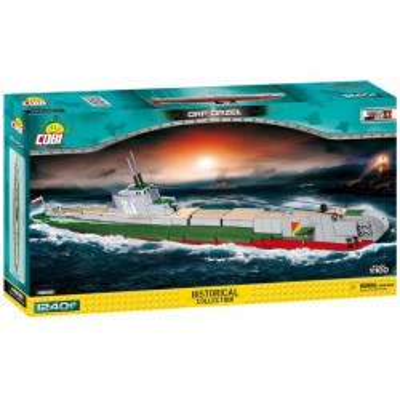 Klocki Mała Armia ORP Orzeł polski okręt podwodny