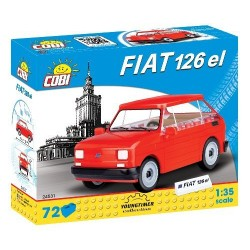 Klocki Youngtimer Collection Fiat 126p el