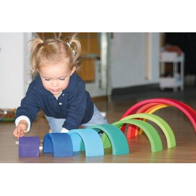 Klocki kreatywne Classic Niebieskie