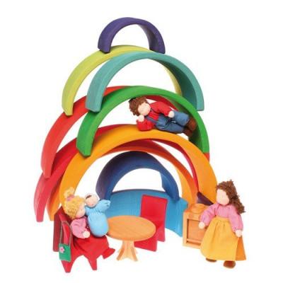 Klocki Minecraft BigFig Creeper i Ocelot