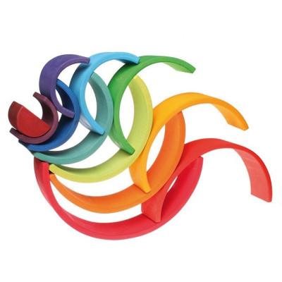 Klocki Minecraft BigFig Świnka i mały zombie