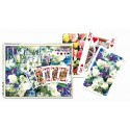 Karty do gry Piatnik Floral Paradise Blue