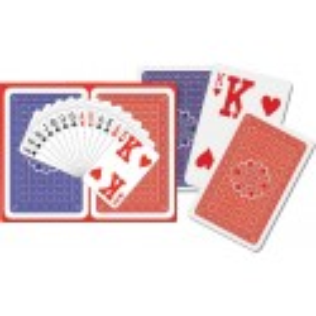 2 x karty do gry Superb Piatnik, wielkie indexy