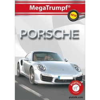 Karty kolekcjonerskie Quartet, Porsche Piatnik