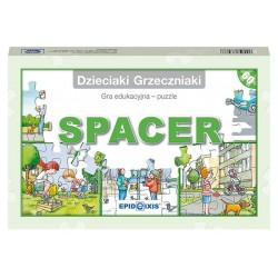 Dzieciaki Grzeczniaki, gra edukacyjna Spacer