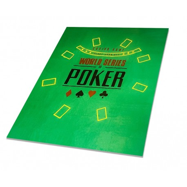 Mata Do Gry w Pokera Sukno Pokerowe 120x90 World Series of Poker