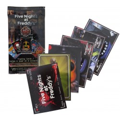 Karty kolekcjonerskie Five Nights at Freddy's