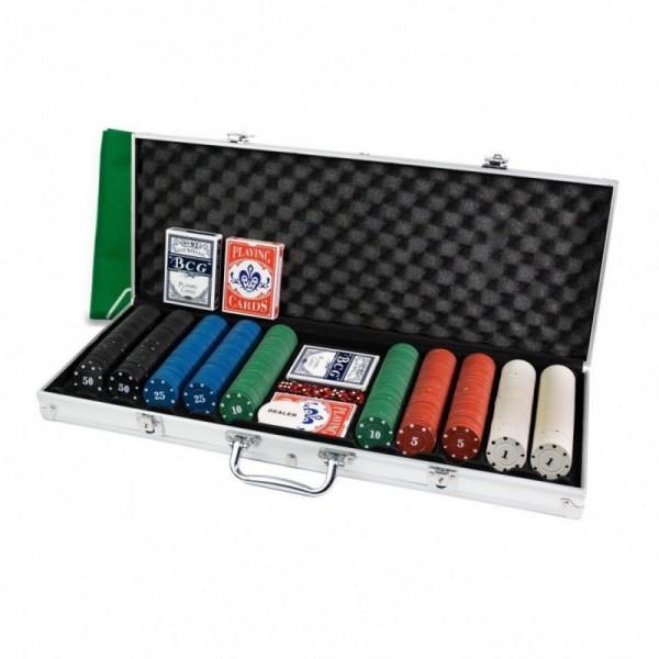 Karty hiszpańskiej firmy FOURNIER WSOP 100% plastik.