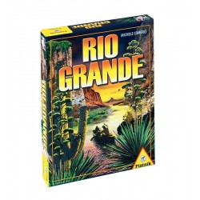 Ciekawa gra typu Tile Placement Rio Grande Piatnik
