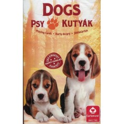 Karty do gry Animal Trumps Dogs playing cards Cartamundi