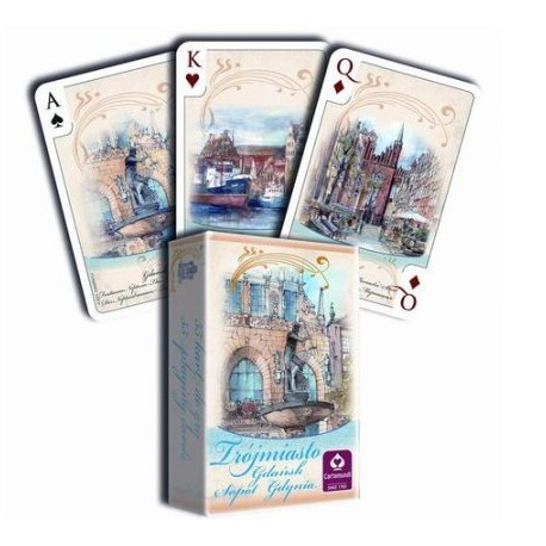 TRÓJMIASTO AKWARELE - talia 55 kart