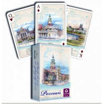 POZNAŃ AKWARELE - talia 55 kart