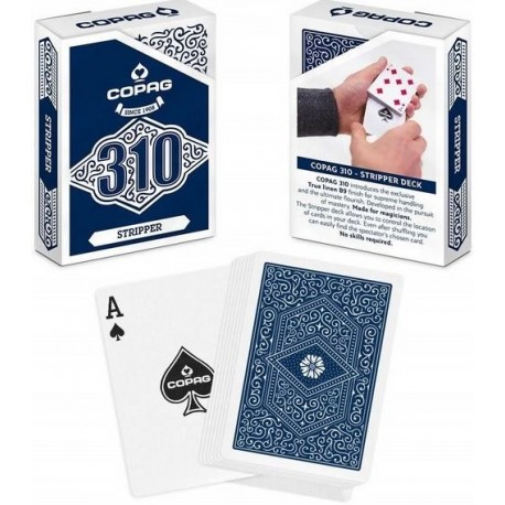 COPAG 310 Tricked Deck STRIPPER / TAPERED