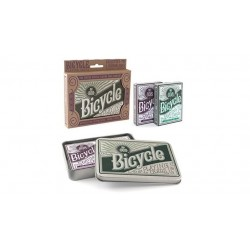 Bicycle Retro Tin Gift Set