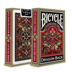 Bicycle Gold Dragon Back