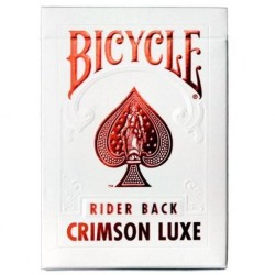 Bicycle MetalLuxe Crimson