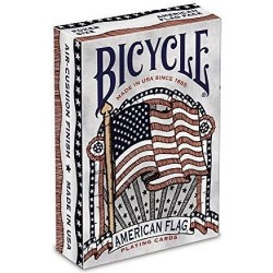 Karty do gry Bicycle American Flag USA do sztuczek Poker