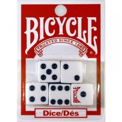 Kości kostki do gry Bicycle 5 Dice Set Lux