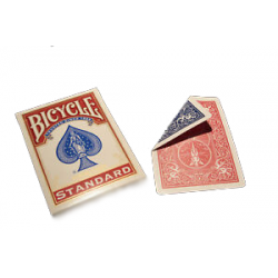Bicycle Gaff Card- Double Back Deck/ Blue Red