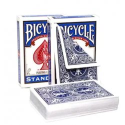 Bicycle Gaff Card- Double Back Blue/Blue
