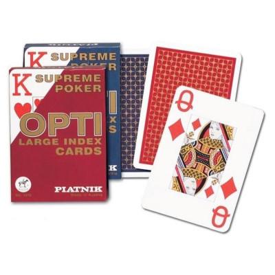 Karty do gry, 100% plastik, dwie talie w komplecie!