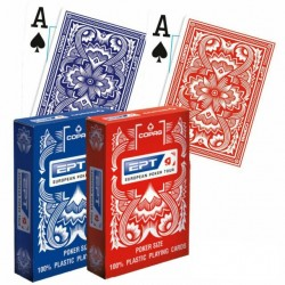 Karty Do Gry 100% Plastik Copag  EPT Nowa Edycja Jumbo Poker