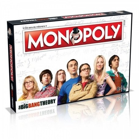 Monopoly Big Bang Theory PL