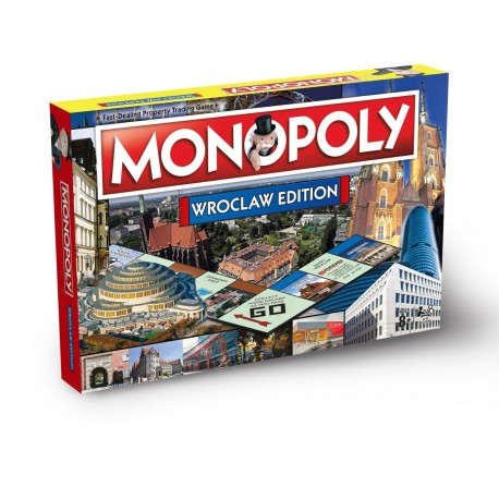 Winning Moves Monopoly Wrocław ENG