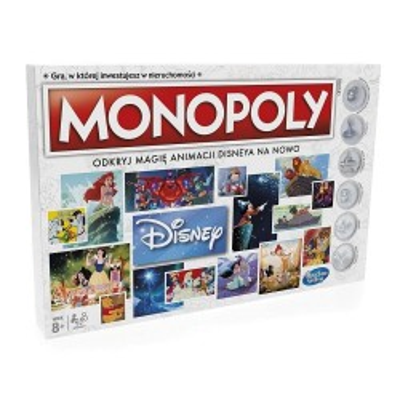 Oryginalna Gra Monopoly Disney Hasbro