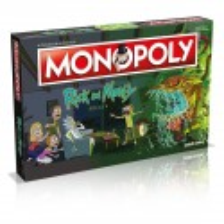 Winning Moves Monopoly Rick i Morty