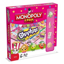 Winning Moves Monopoly Junior Shopkins