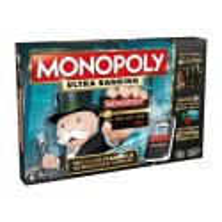 Oryginalna Gra Monopoly Ultra Banking Wersja Polska Hasbro