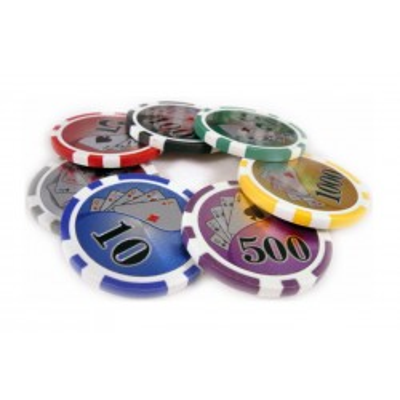 Żetony Laserowe Do Gry W Pokera Z Nominałem 14 Gram