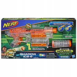 NERF N-STRIKE MODULUS SHADOW ICS 6