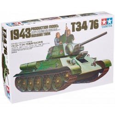 Russian T34/76 1943 Tank
