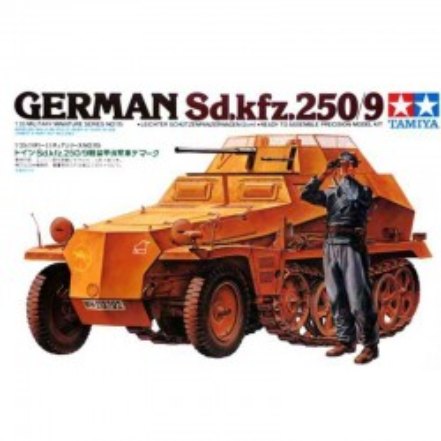 German SdKfz 250/9