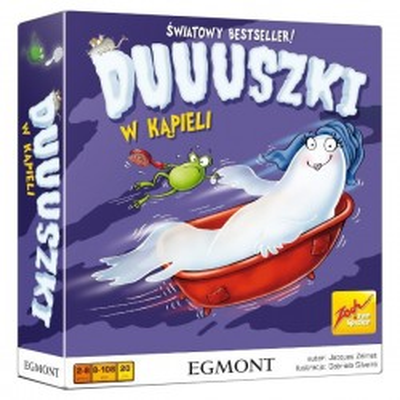 Gra Duuuszki w kąpieli