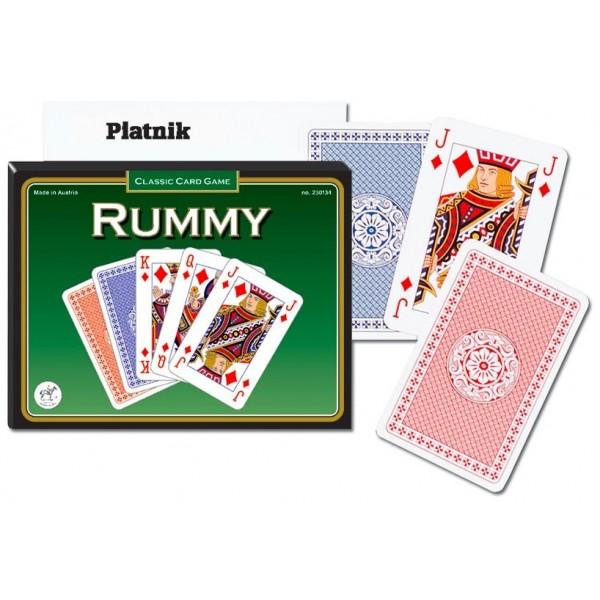 Luksusowe karty do gry Piatnik Black Russian