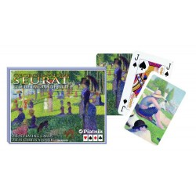 Karty do gry Piatnik  Seurat, Grande Jatte