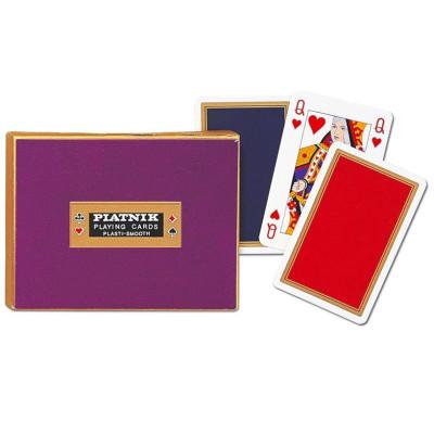Karty do gry Piatnik Liście dębu pojedyncze, poker, brydż, remik