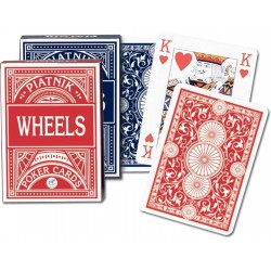 "Karty do gry Piatnik ""Wheels"" Pokerowe"
