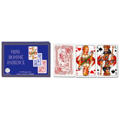 Eleganckie karty do gry Opti brydż, 4 indeksy, Jumbo Index
