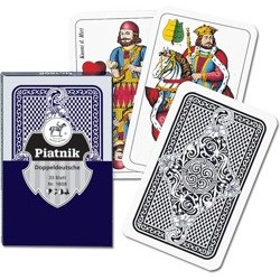 Luksusowe karty Piatnik & Sohne Skat
